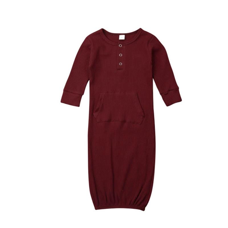 Осенняя одежда для сна с длинными рукавами для маленьких мальчиков и девочек спальный мешок для малышей, хлопковые комбинезоны для новорожденных, комбинезон, костюмы