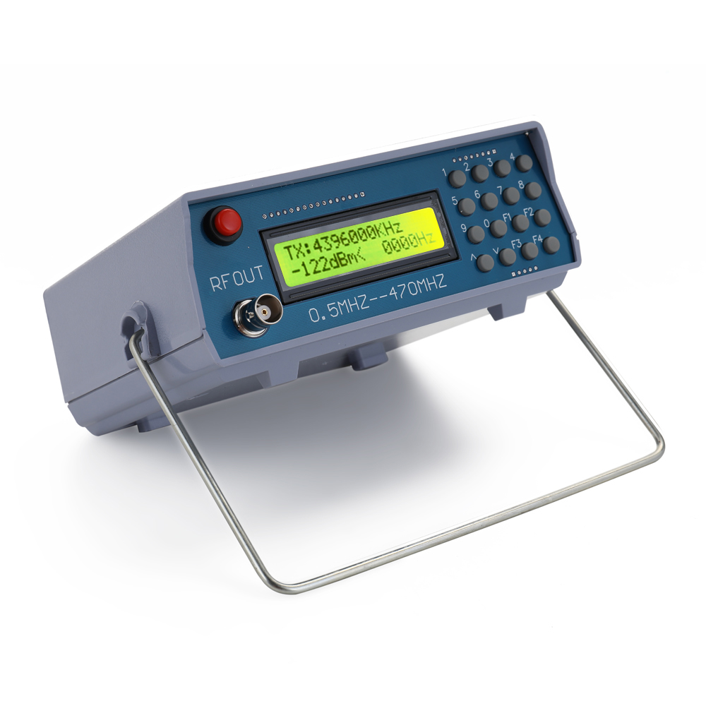 Генератор сигналов 0,5 МГц-470 МГц, РЧ-генератор сигналов, тестер для FM-радио, раций, отладки, цифровой CTCSS, один выход