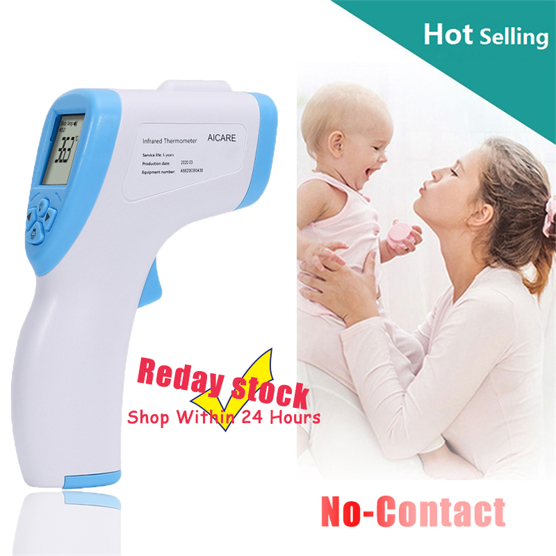 2020 Baby Forehead Thermometer Digital Temperature Measurement  Non Contact IR Body Fever Infrared Thermometer Gun Baby  KidsThermometers