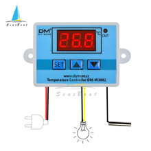 W3002 Digital Temperature Controller 10A Thermostat Switch Thermometer New Thermoregulator Cooling Heating 12V/24V/110V/220V