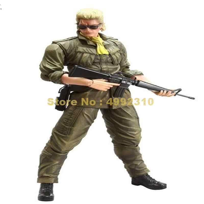 Metal Gear Solid Kazuhira Miller Pvc Moveable Action Figure Collection Model 28cm Toy Aliexpress Kazuhira mcdonell benedict miller, don't you dare pull that pin. aliexpress