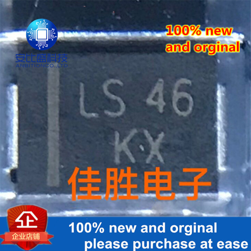 50pcs 100% New And Orginal SMBJ10A 10v One-way TVS Protecting Tube DO214AA Silk-screen KX  In Stock