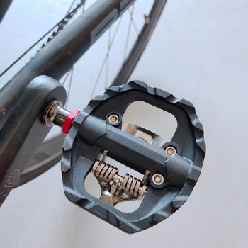 Wyścig działa PD-A530 SD podwójna platforma pedał rowerowy podwójna platforma pedały rowerowe tanie i dobre opinie RacewoRK Aluminium stop