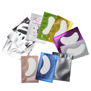 50pairs/pack New Paper Patches Eyelash Under Eye Pads Lash Eyelash Extension Paper Patches Eye Tips Sticker Wraps Make Up Tools 1
