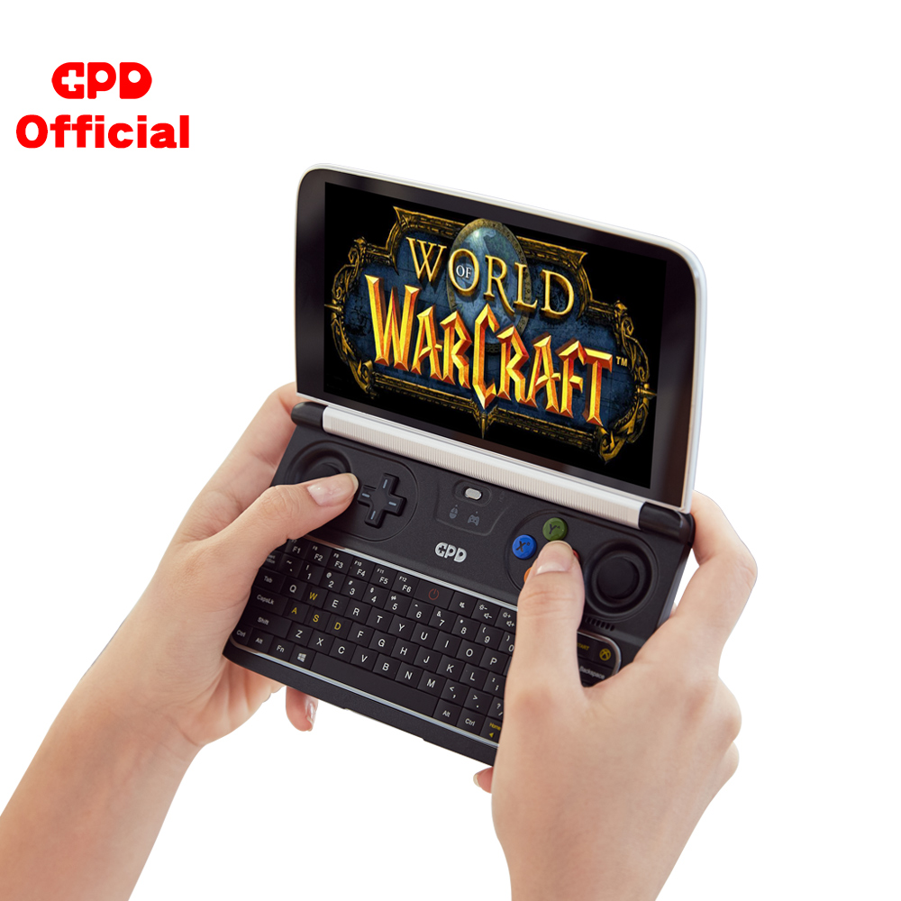 GPD WIN2 WIN 2 Windows 10 Gaming Laptop Mini Portable Computer <font><b>Notebook</b></font> Intel Core M3-8100Y 8+256GB 6 Inch IPS Touch Screen New image