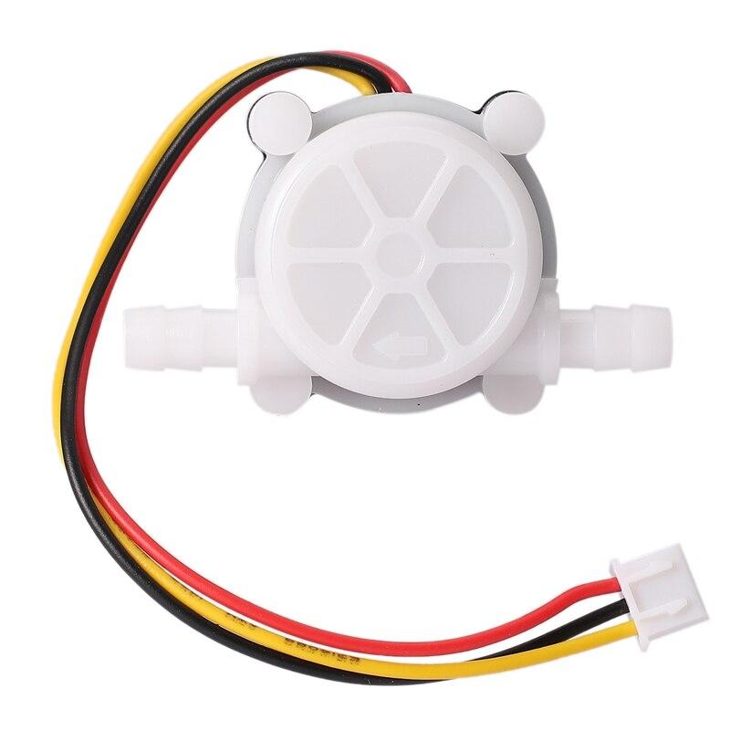 New Hot 1Pcs Water Coffee Flow Sensor Switch Meter Flowmeter Counter 0.3-6L/Min YF-S401