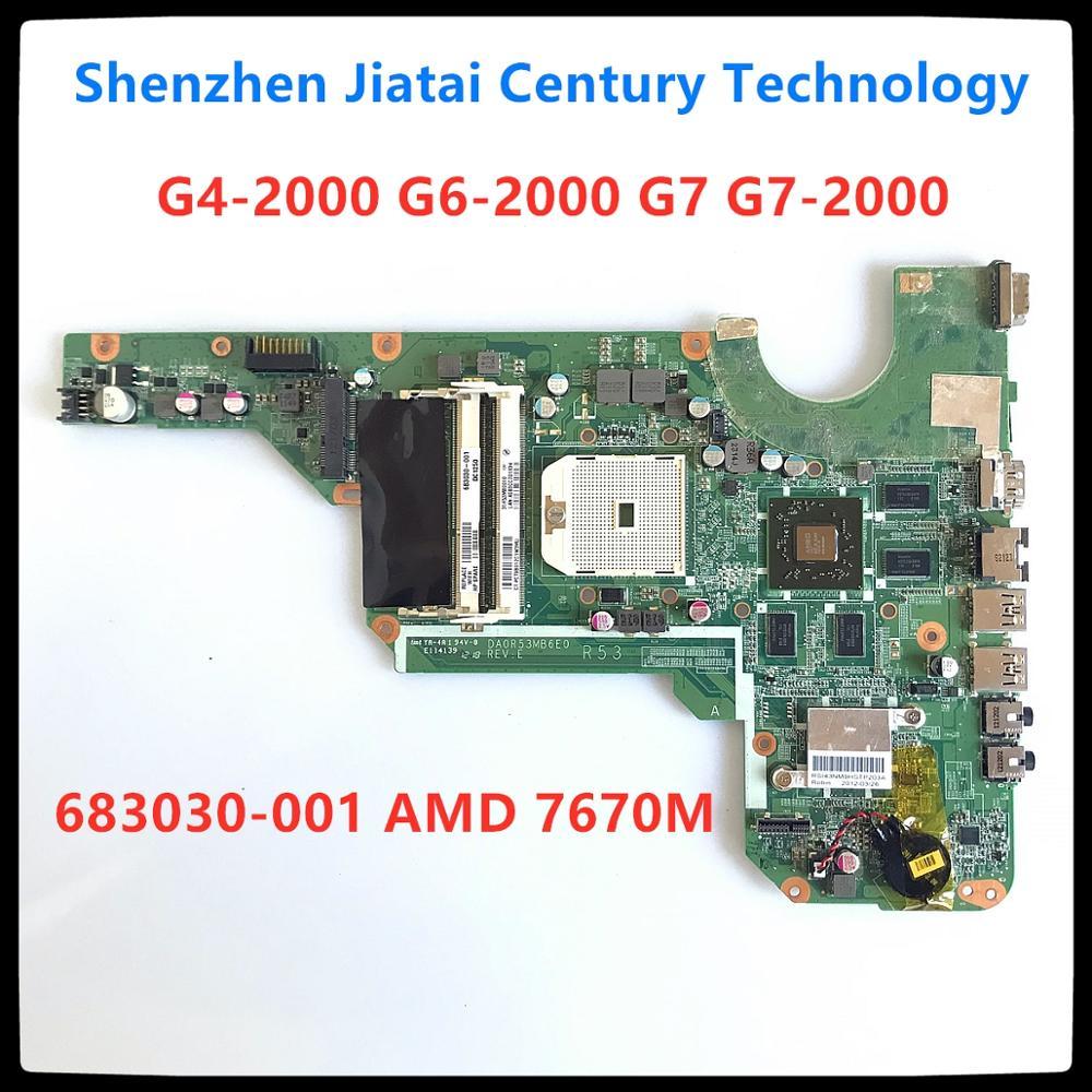 for 680570-001 HP Pavilion G4 G6 G4-2000 Motherboard DA0R33MB6F0 100/% Tested OK
