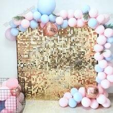 Panneau de paillettes couleur or, arrière-plan de mariage, publicité personnalisée, chansons, fenêtre de magasin, arrière-plan glam scintillant, mur de paillettes