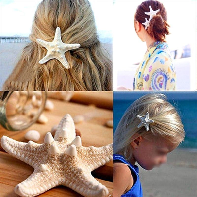 Fashion Wild Women Hairpin Starfish Styling BB Clip DIY Simple Cute Girls Hair Accessories Y4QB