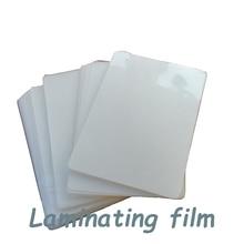 50 микрон горячая машина Ламинирование фото и книга защита Водонепроницаемый ПВХ ПЭТ PP пластик ламинатор пленка