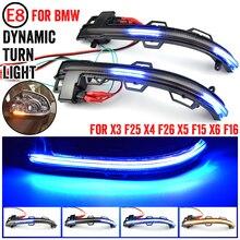 Für BMW X3 X4 X5 X6 F25 LCI F26 F15 F16 2014   2018 LED Dynamische Blinker Blinker Sequentielle seite Spiegel Anzeige Licht