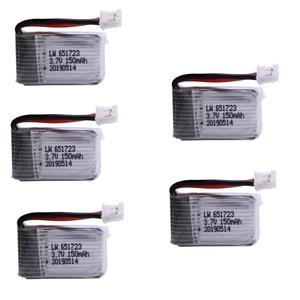 3.7V 150mAh lipo battery For H