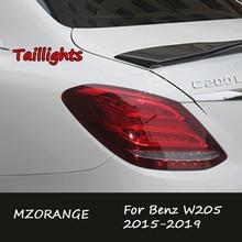 Tail Light For Benz W205 C180 C200 C260 C300 2015 2019 TailLights Tail Brake Stop Lamp fog light foglights