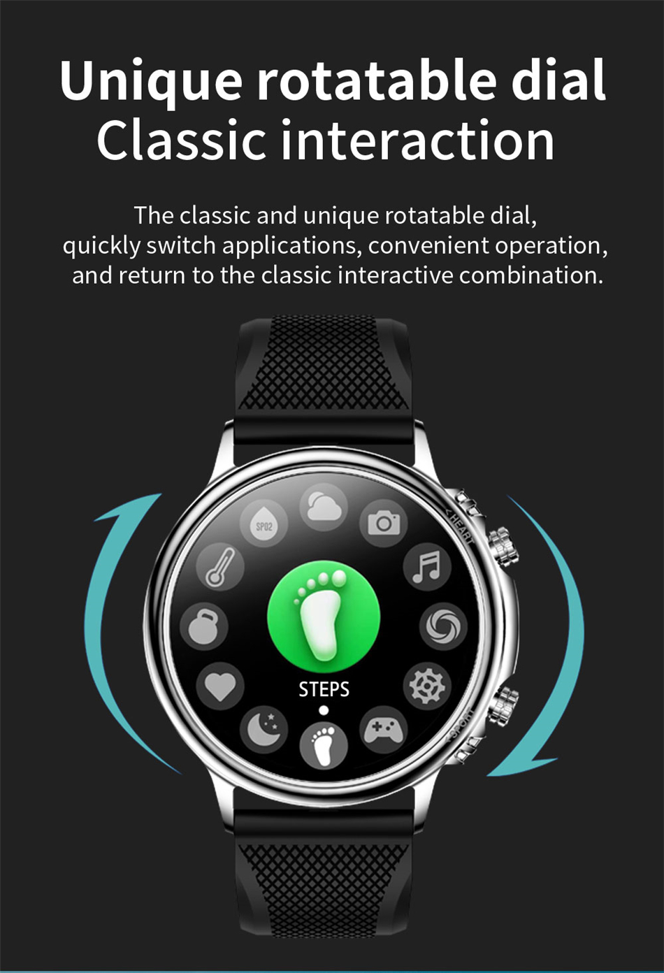 H7a07cd65bfa04839b35ce537be9d0327i LIGE New Smart Watch Men Custom Dial Full Touch Screen Waterproof Smartwatch For Android IOS Sports Smart watch Fitness Tracker