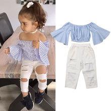 Toddler 2PCS Clothes Set 2019 Kids Baby Girls Summer Clothes