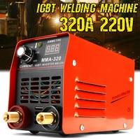 320A Mini Inverter Welding Machine IGBT MMA 320 Arc Welders 220V With LED Display