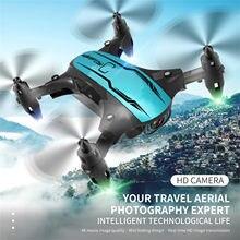 Cs02 mini zangão 4k fpv wifi única câmera zangão profissional dupla câmera fluxo óptico bateria modular rc quadcopter