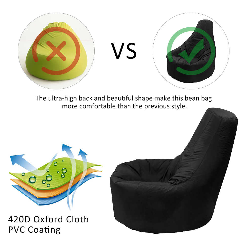 Büyük küçük tembel kanepeler kapak sandalyeler dolgu olmadan şezlong koltuk fasulye torbası puf kanepe Tatami oturma odası yatak odası sandalye