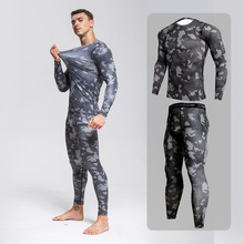 Clothing Quick-Dry-Set Fitness Running Tracksuit Compression-Suits MMA 3-Piece-Sets Gym