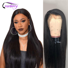 Cranberry Straight Lace Front Human Hair Wigs