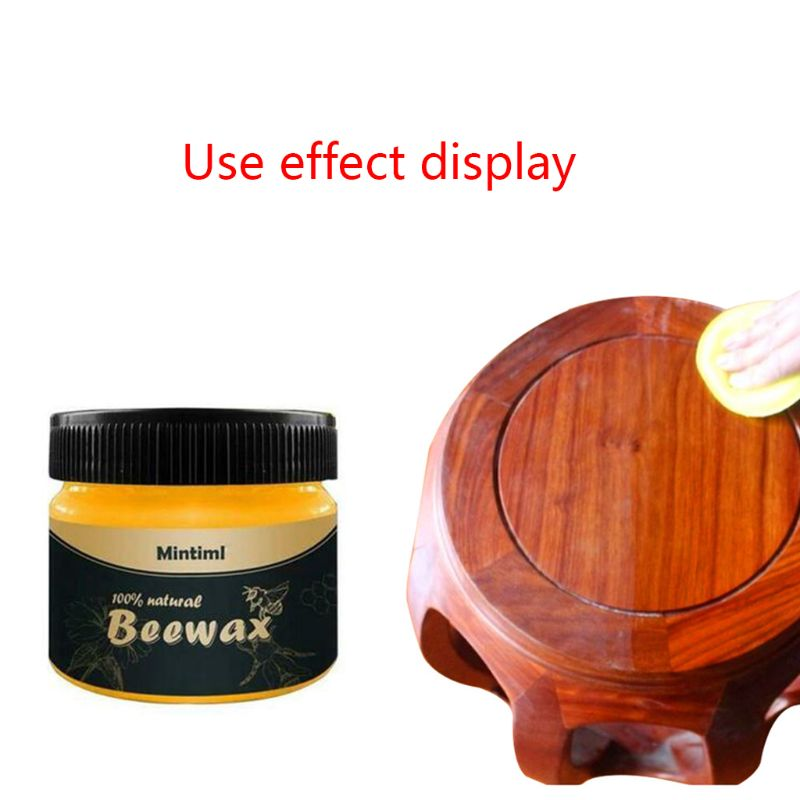 Wood Seasoning Beewax Home Cleaning Furniture Care Polished Waterproof And Wear-resistant Wax