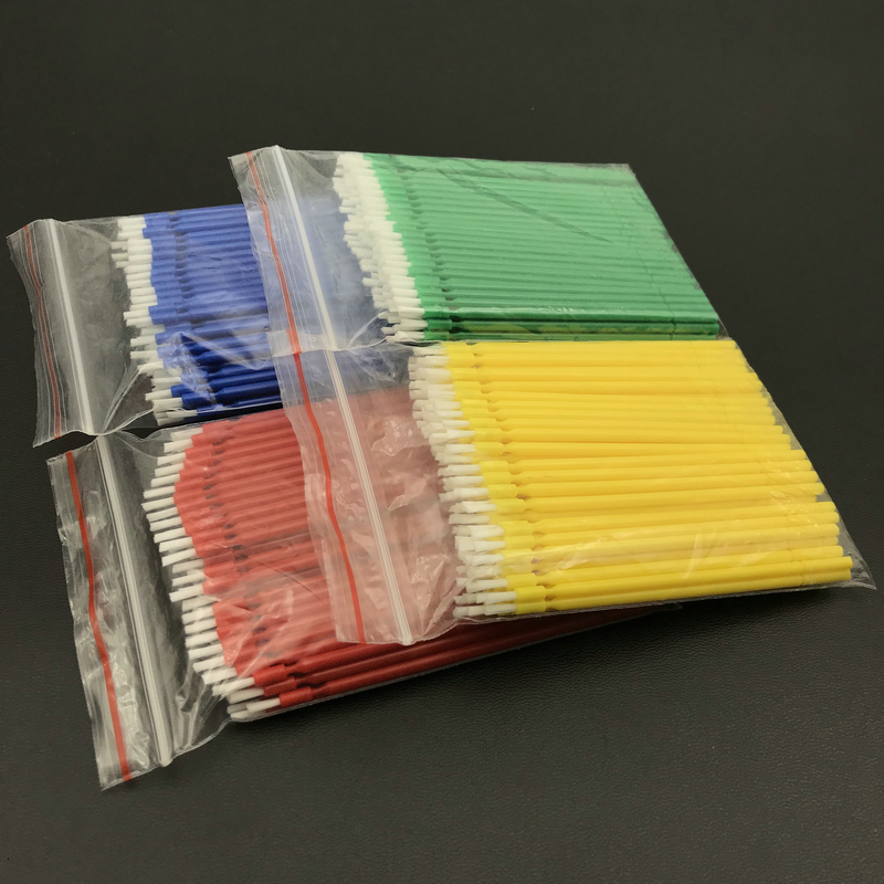 400pcs Dental Lab Long Disposable Micro Applicators Brushes Dental Brush