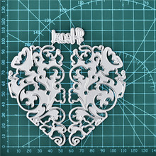 Naifumodo Heart Metal Cutting Dies New 2019 for Heart Mold Craft Dies Scrapbooking Album Embossing Die Cut Stencil Card Making детская кроватка chicco next2me standard pearl 00079339840000