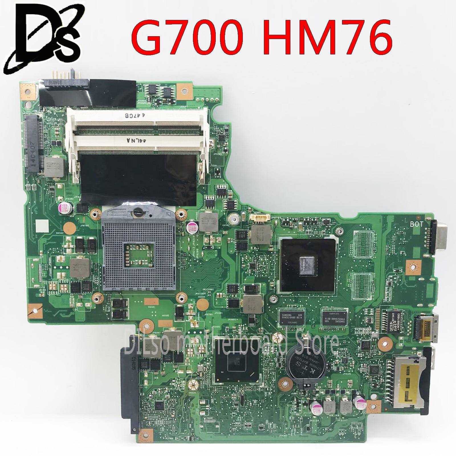 KEFU G700 Motherboard For Lenovo G700 Laptop Motherboard BAMBI Mainboard With GPU 11SN0B5M11 11S90003042 Original Mainboard