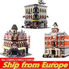 Lepinblocks KING 16001 16060 city street creator Гарри городской замок строительные блоки кирпичи 10211 10211 10246 Рождественская игрушка подарок