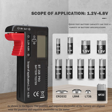 Universal Digital Lithium Battery Capacity Tester -168 PRO Checkered Load Analyzer Display Check AAA AA Button Cell 1.2V~4.8V