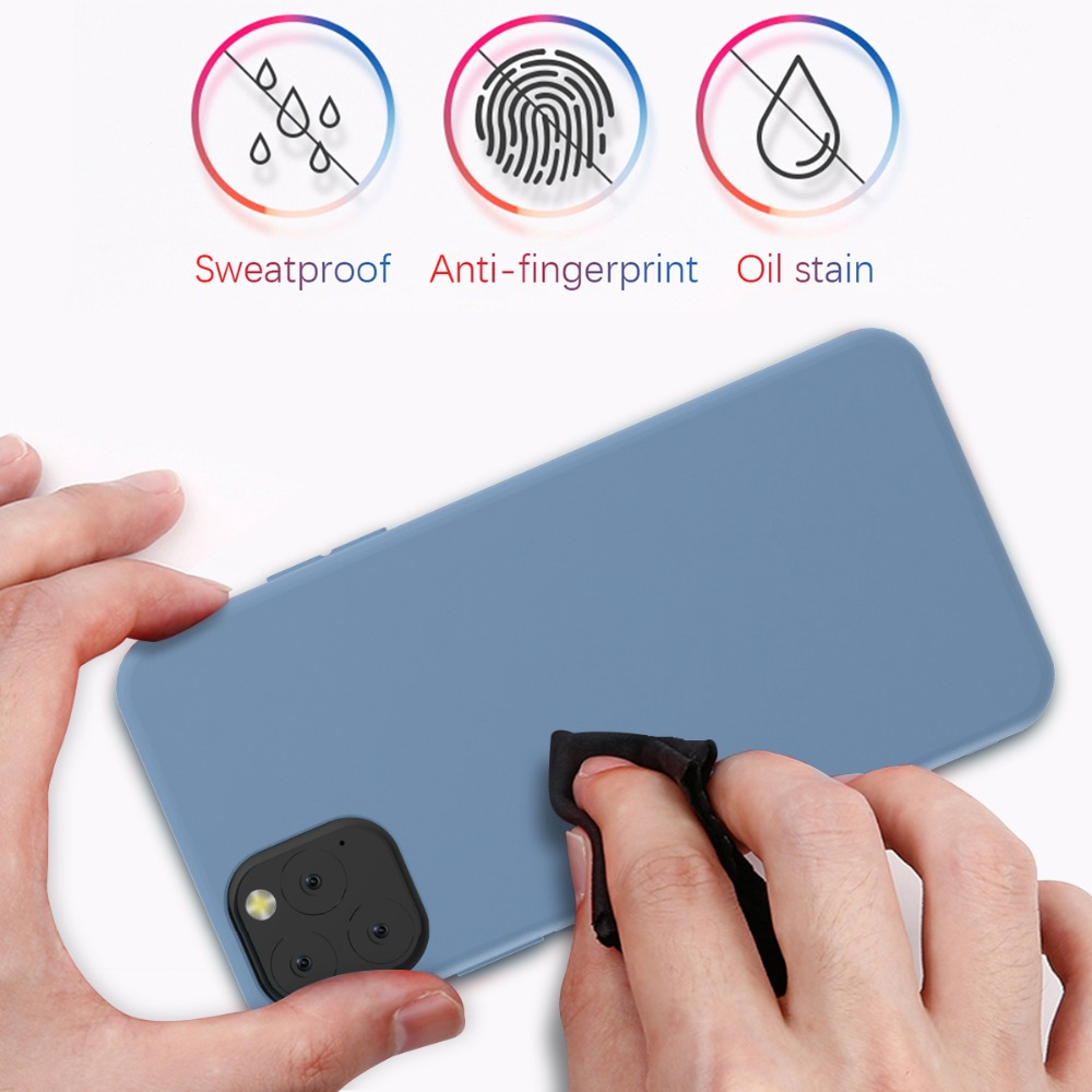 Torubia Silicone Case for iPhone 11/11 Pro/11 Pro Max 12