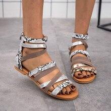 WDHKUN Women's Sandals Gladiator Female Shoes