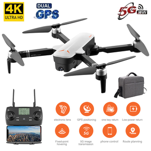 Image 1 - 2019 New RC Drone 8811 GPS 5G Quadcopter with Wide Angle GPS 4K Camera Drone Gesture Foldable Optical Flow Dron Helicopter Toys