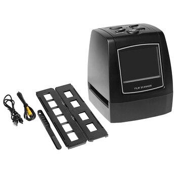 Escáner de película 135 de alta resolución portátil Convertidor para películas de diapositivas de 35Mm Visor de imagen Digital de foto con Lcd de 2,4 pulgadas de edición incorporada