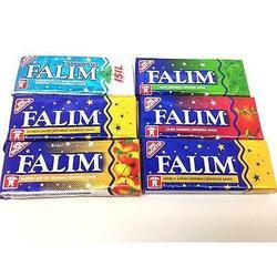 Falim goma de mascar sem açúcar, sem açúcar (7x5 pack) 35 gengivas, opção de presente