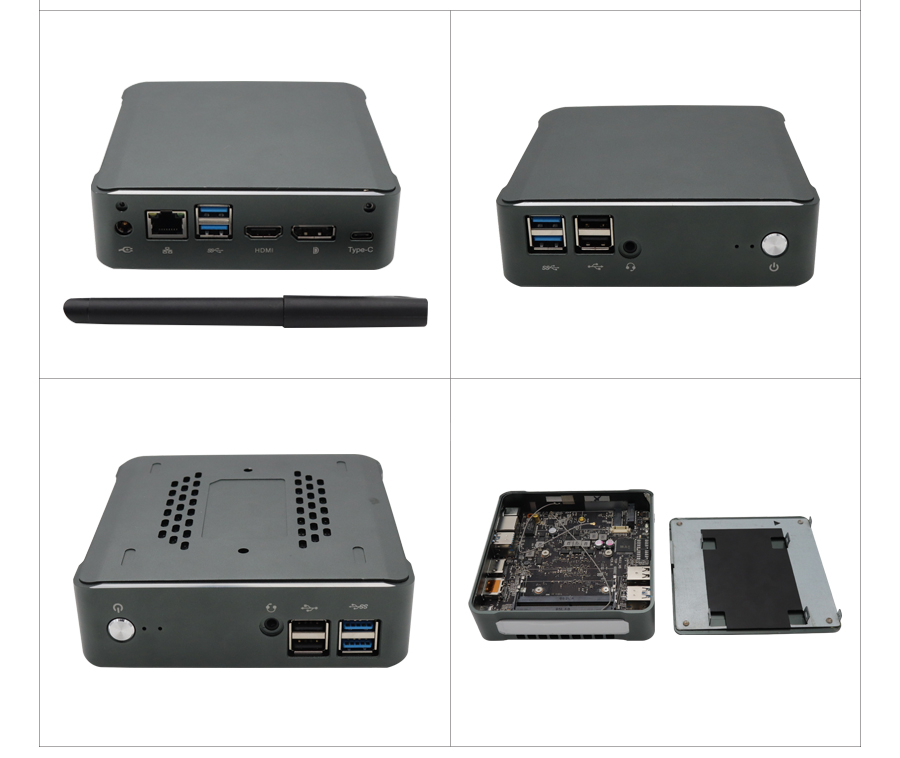 Mini PC with 8TH Gen Intel Core i7 8565U for Windows 10 pro with Fan 15