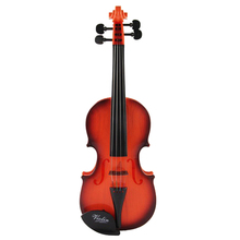 Protable Toy Violin Musical Instrument Toys Practice Violin Model Gift