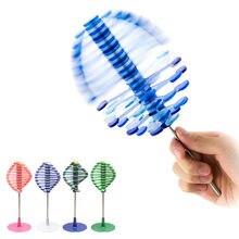Autismo stim sensorial stress reliever giratório cinética engraçado fidget brinquedos meninos meninas aniversário surpresas presentes engraçados