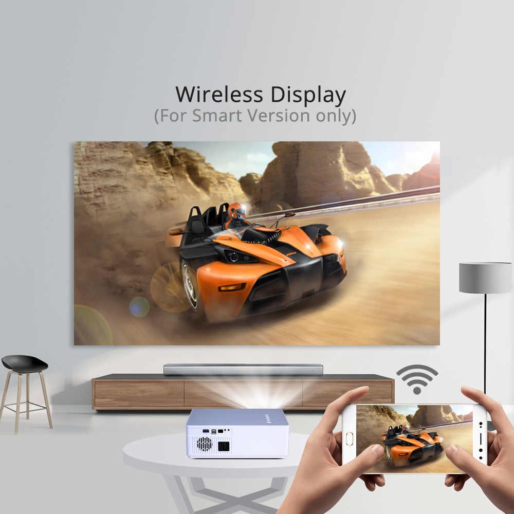 ירח K20 1920*1080 מלא HD BYINTEK חכם אנדרואיד Wifi תמיכה AC3 300 אינץ LED וידאו מקרן עם USB עבור קולנוע ביתי קולנוע