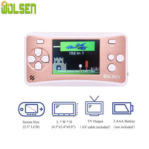 Image 2 - Wolsen 2.5 inch  handheld game systems with built in games 152 games for Kid 8 Bit Video game system