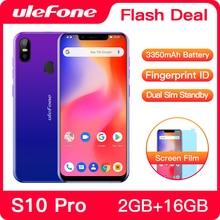 Ulefone S10 Pro телефон смартфон телефоны смартфоны 4G usb кабель Android 8.1 5.7 inch MT6739WA Quad Core 2GB RAM 16GB ROM 16MP+5MP
