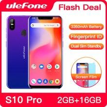 Ulefone S10 Pro cep telefonu Android 8.1 5.7 inç MT6739WA dört çekirdekli 2GB RAM 16GB ROM 16MP + 5MP arka çift kamera 4G Smartphone