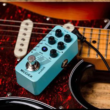 E7 Electric Guitar Effects Pedal 7 Polyphonic Synthesizer Sounds Guitar Pedal Arpeggiator Mode Instrument  Guitar Accessories electric guitar pedal board guitar effects pedalboard pedal musical instrument accessories