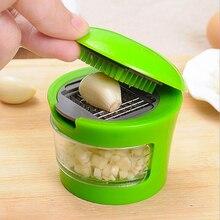 Пюре чеснок инструменты пресс-пресс для чеснока, нож кухонный измельчитель шлифовальный инструмент для пресса чеснок, имбирь, лук дробилка