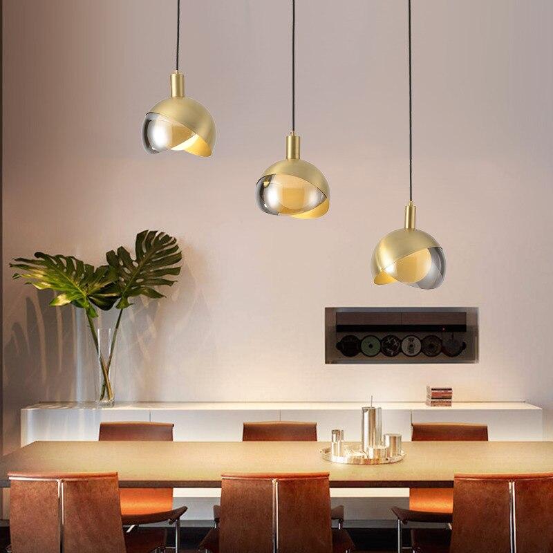 Japan  Hanging Ceiling Lamps Glass LED  Pendant Lights  Home Decoration E27 Light Fixture Deco Chambre Hanging Lamp