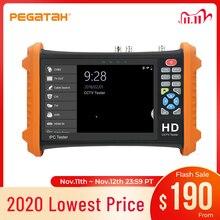7 بوصة كاميرا تلفزيونات الدوائر المغلقة تستر 8MP اختبار الفيديو TVI CVI 5MP AHD 2MP SDI ahd كاميرا مراقبة HDMI دعوة OSD القائمة UTP مراقب ل CCTV