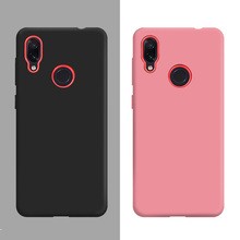 For Redmi Note 7 Case Soft Silicone Protective Shell Phone Back Cover