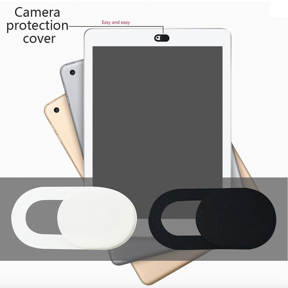 WebCam Cover Shutter Magnet Slider Plastic Universal Antispy Camera Cover For Laptop IPad PC Macbook Privacy Sticker