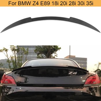 Carbon Fiber Rear Trunk Spoiler Wing For BMW Z4 E89 30i 35i 28i 20i 18i 2 Door 2009 - 2015 Car Rear Trunk Boot Lip Wing Spoiler image