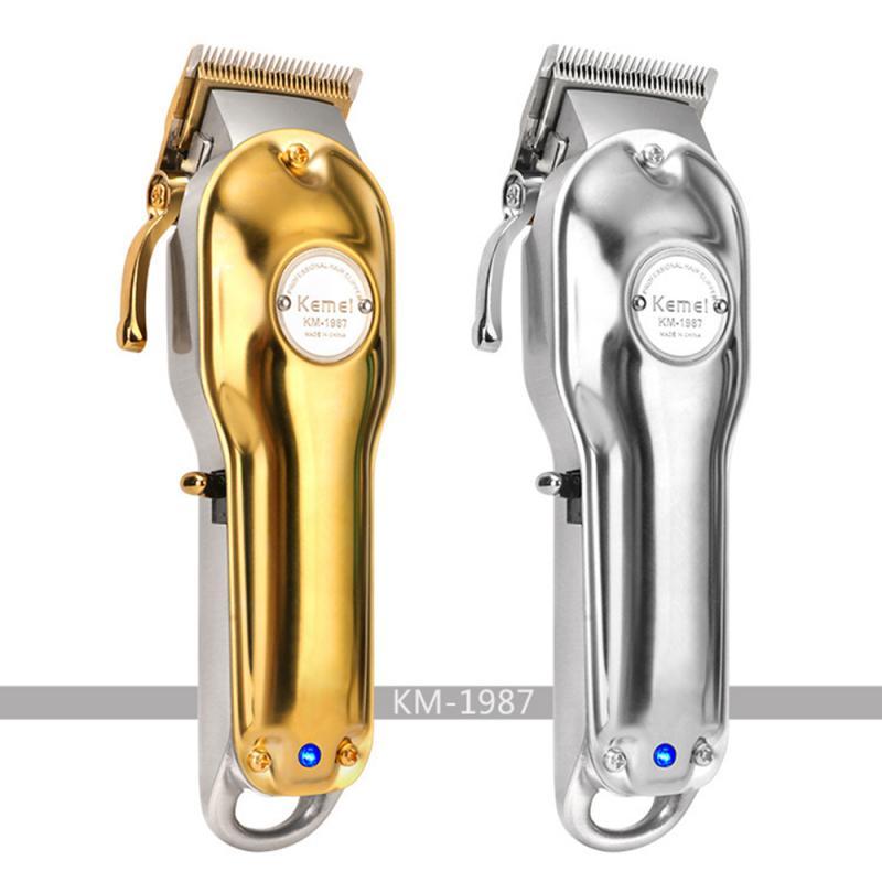 KEMEI KM-1986 Hair Clipper Rechargeable Barber Shop Professional Hair Trimmer For Men Beard Electric Cutter Hair Cutting Machine